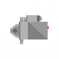 NIKKO 0-61000-0080, 0610000080 ANLASSER CHEVROLET 2.8 KW